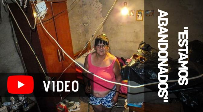 """[VIDEO] ROSA: """"ESTAMOS ABANDONADOS"""""""