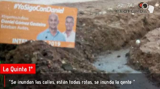 """Vecinos de """"El Zanjón"""" denuncian situaciones peligrosas por obras frenadas"""