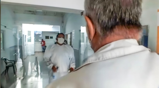 Niegan el ingreso a Medicos en el Hospital Sayago