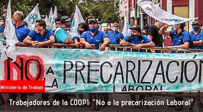 Nueva Audiencia de trabajo por el futuro de los trabajadores de la COOPI