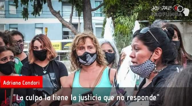 Adriana Condori habló al grupo de mujeres reunidas el sábado en el Cucú