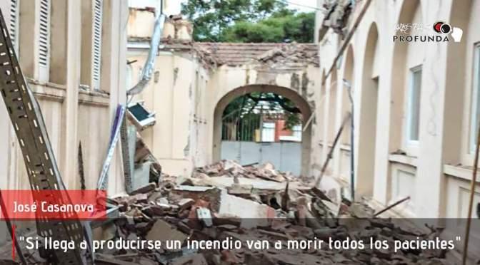Luego del derrumbe del hospital Misericordia advierten una futura catástrofe en el hospital nuevo