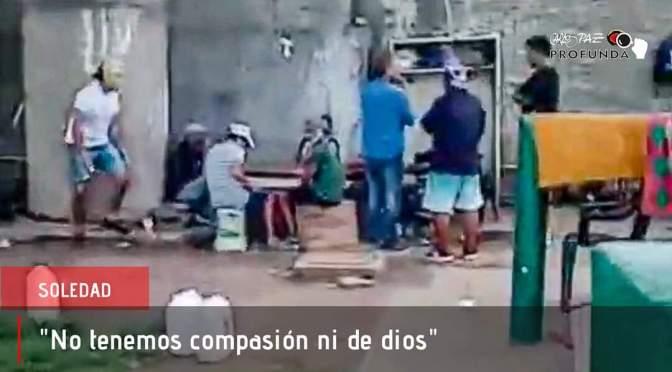 Viviendo en las choperas: El estado de Precariedad en las que viven aproximadamente 20 personas.