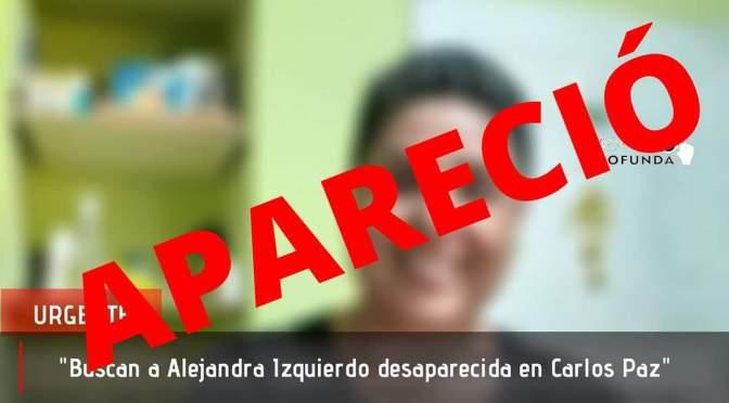 Buscan a mujer embarazada desaparecida en Carlos Paz.