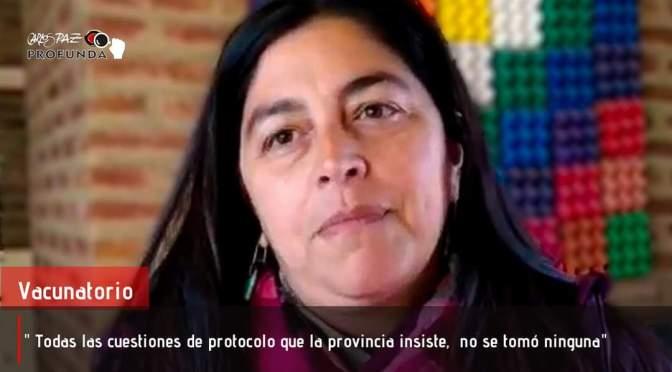 Carlos Paz: Centro de vacunación en primera persona