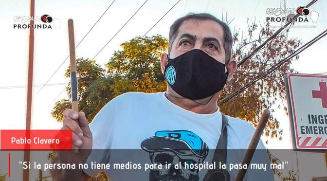 Vecinos autoconvocados del barrio Colinas unidos por la salud