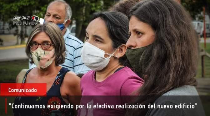 Nuevo comunicado del Carande Carro solicita la reactivación de obras y mejores condiciones de educación.