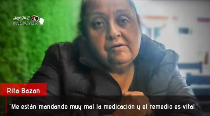 No puede faltarle el medicamento y la obra social no envía lo suficiente. Desesperada decide recurrir a los vecinos.