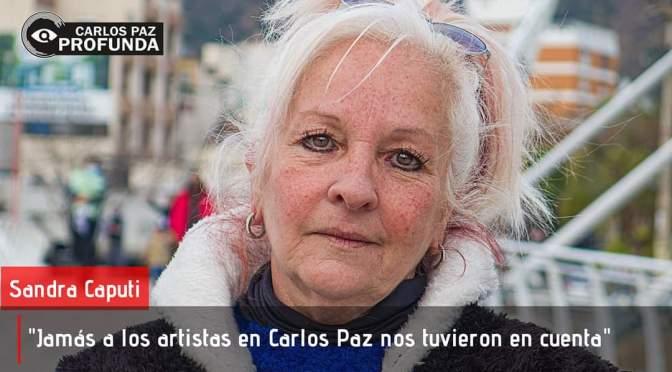 Reconocida artista local da testimonio de la difícil situación de la comunidad de artistas en Carlos Paz
