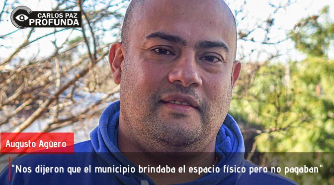 Carlos Augusto Agüero: El hombre que se anima a denunciar ser estafado en oficinas de la municipalidad.