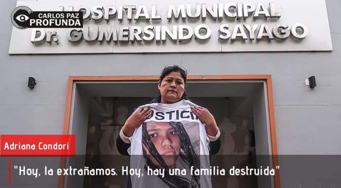 Dos años sin justicia: Adriana se manifiesta para demostrar que no está en silencio.